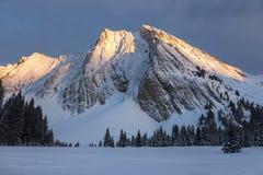Bâti Chester Kananaskis Country Alberta Canada Photo stock