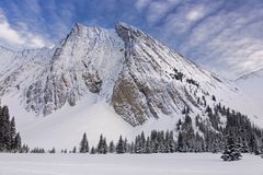 Bâti Chester Kananaskis Country Alberta Canada Photo stock