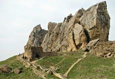 Bâti de Besh Barmag en Azerbaïdjan Photos stock