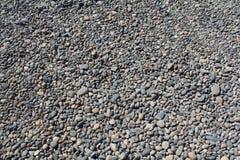 Bâti de gravier de roche de fleuve Images libres de droits