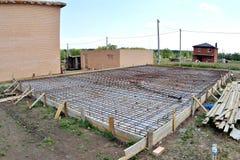 Bâti des planchers en béton Image libre de droits