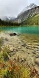 Bâti Edith Cavell de lac Cavell photos stock