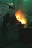 Bâti en bronze image libre de droits