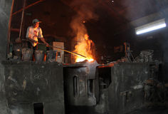 Bâti en métal Images stock