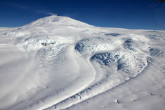 Bâti Erebus, Antarctique Images libres de droits