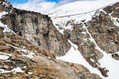 Bâti Evans Summit - le Colorado Photographie stock libre de droits