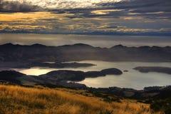 Bâti Herbert, Nouvelle-Zélande photo libre de droits