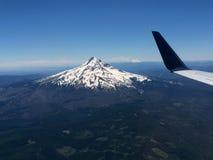 Bâti Hood Viewed From un avion photo libre de droits