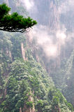 Bâti Huangshan Xihai Grand Canyon, porcelaine incroyable Photographie stock