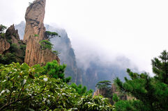 Bâti Huangshan Xihai Grand Canyon, porcelaine incroyable Images stock