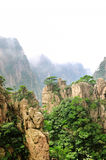 Bâti Huangshan Xihai Grand Canyon, porcelaine incroyable Photo stock