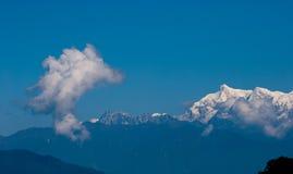 Bâti Kanchenjunga Photo libre de droits