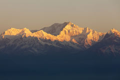 Bâti Kanchenjunga Photographie stock