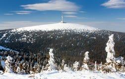 Bâti Praded - Jesenik - République Tchèque photo libre de droits