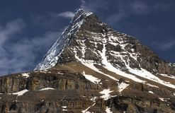 Bâti Robson Emperor Ridge Photographie stock