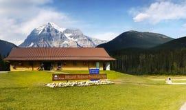 Bâti Robson Parkway Tour de Canada Photos libres de droits