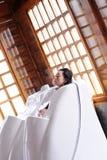 Bâti sec de sauna Photos libres de droits