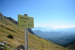 Bâti Tymfi de connexion d'altitude photos libres de droits
