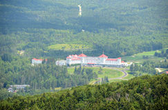 Bâti Washington Hotel, New Hampshire, Etats-Unis Photo libre de droits