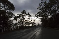 Bâti Wellington - Tasmanie Photos stock