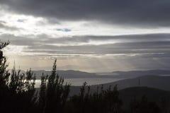 Bâti Wellington - Tasmanie Images stock
