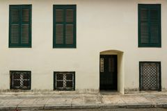 Bâtiment à Athènes photos libres de droits