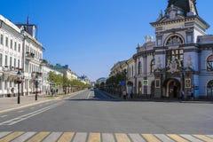 Bâtiment à Kazan photographie stock libre de droits