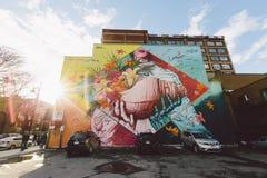 Bâtiment à Montréal Photos stock