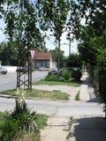 Bâtiment à Novi Sad Photo stock