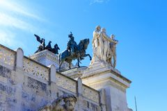 Bâtiment à Rome photographie stock
