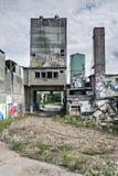 Bâtiment émacié Photo libre de droits