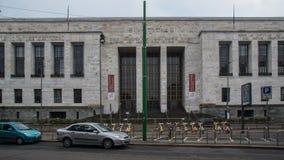 Bâtiment énorme de gouvernement d'architecture concrète photos libres de droits