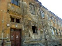Bâtiment abandonné à Kiev Photos libres de droits
