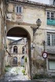 Bâtiment abandonné à Lisbonne Images libres de droits