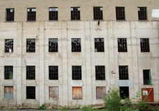 Bâtiment abandonné Photo stock