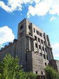 Bâtiment abandonné d'URSS Images libres de droits