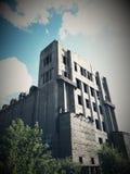 Bâtiment abandonné d'URSS Photographie stock