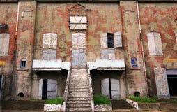 Bâtiment abandonné d'usine images libres de droits