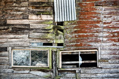 Bâtiment abandonné de ferme Photos stock