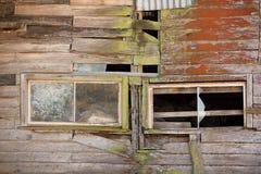 Bâtiment abandonné de ferme Photographie stock libre de droits