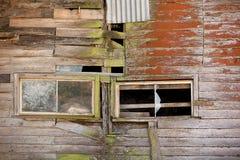 Bâtiment abandonné de ferme Images libres de droits