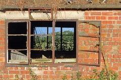 Bâtiment abandonné de ferme Photos libres de droits