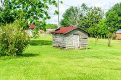 Bâtiment abandonné de la Louisiane Photo stock
