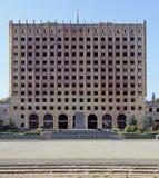 Bâtiment abandonné du Conseil des ministres à Soukhoumi photos stock