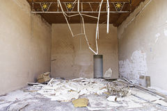 Bâtiment abandonné et abandonné Photographie stock