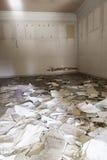 Bâtiment abandonné et abandonné Image stock