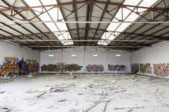 Bâtiment abandonné et abandonné Photo libre de droits