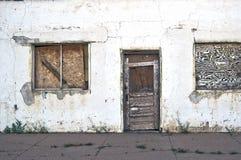 Bâtiment abandonné et négligé Photo stock