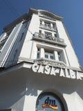 Bâtiment alba de maison, Craiova Image libre de droits