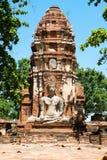 Bâtiment antique, Ayuthaya, Thaïlande Images stock